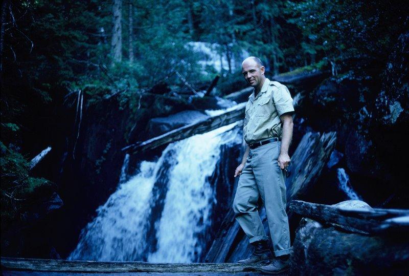 Aug 1967 - Waterfall Below Victoria