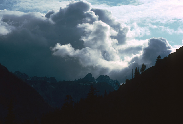 Keep an eye on the weather.  Sometimes the clouds suggest heading quickly for camp or the trailhead.