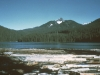 This is a shot of Lost Lake near Snoqualmie Pass.  This lake has been a good producer of eastern brook trout.  Substantial clear cutting has occurred in the forests surrounding the lake since this picture was taken in the early 1970's as the area is outside of Wilderness protection.
