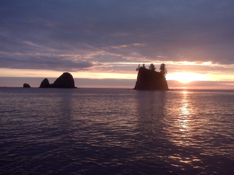 35 Oregon Coast Sunset - Jim Welch