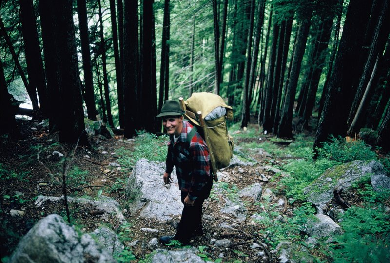 Aug 1966 - Trail to Victoria Lake