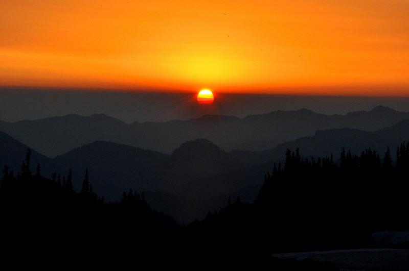 Rex Johnson - Mountain Sunrise